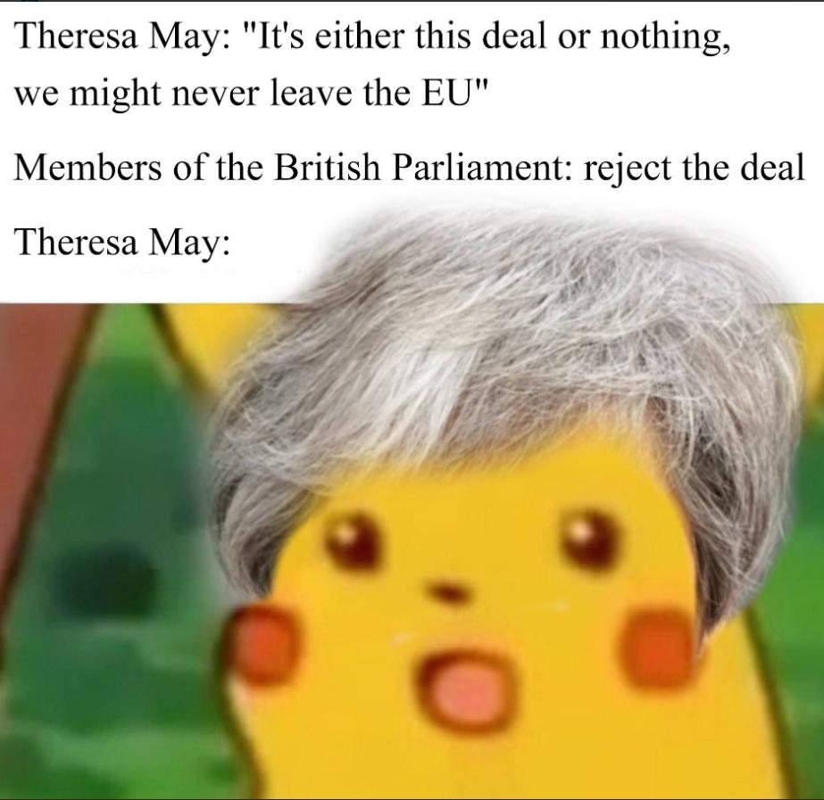 Brytyjska premier może być zaskoczona wynikiem głosowania