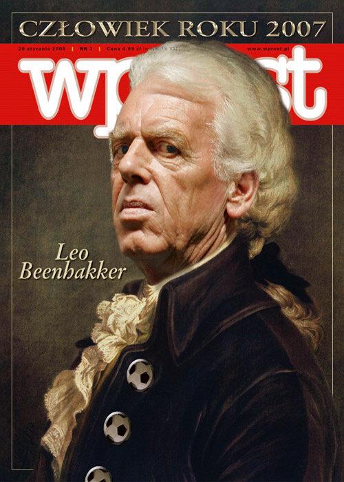 Okładka tygodnika Wprost nr 3/2008 (1308)