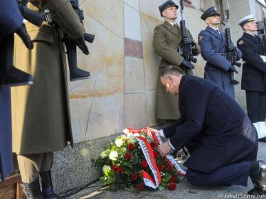 Prezydent Duda na obchodach rocznicy Marca '68: W niepodległej Polsce...