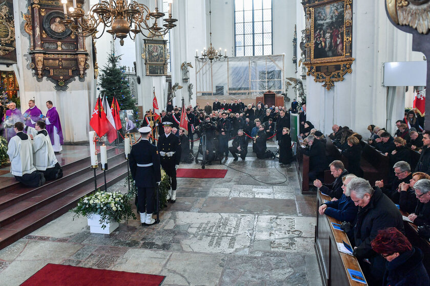 Pogrzeb Pawła Adamowicza