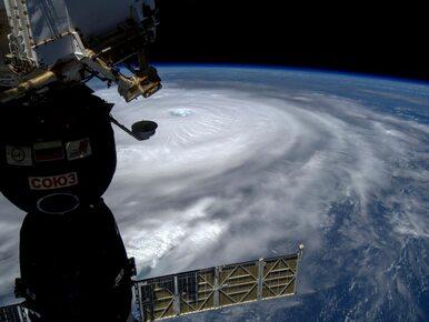 Astronauta publikuje zdjęcia huraganu Irma. NASA pokazuje obraz z...