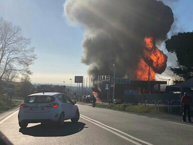 Na stacji paliw eksplodowała cysterna. Są ofiary