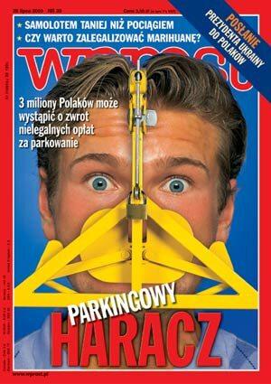 Okładka tygodnika Wprost nr 30/2002 (1026)