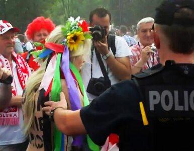 """""""F... Euro!"""". Feministki zatrzymane pod Stadionem Narodowym"""