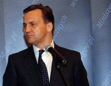 Sikorski atakuje Kaczyńskiego: czy to zmiana farmakologiczna?