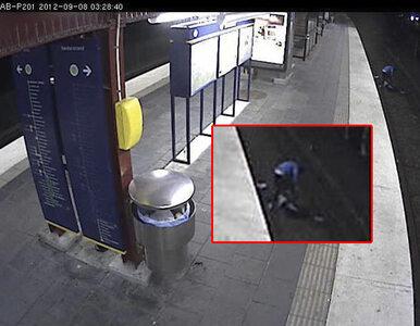 Okradł leżącego na torach i uciekł. Potem nadjechał pociąg...