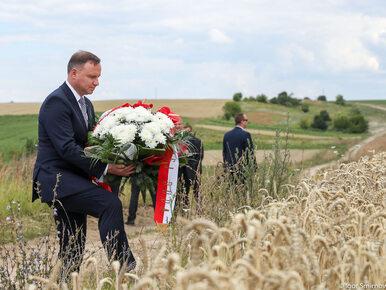 75. rocznica rzezi wołyńskiej. Andrzej Duda oddaje hołd pomordowanym
