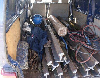 W Wielkopolsce skradziono 9 ton torów kolejowych