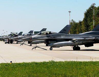 """Zderzenie F-16 i Cessny w powietrzu. """"Kula ognia"""""""