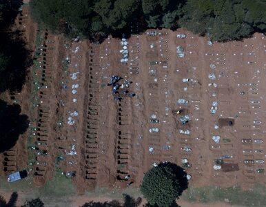 COVID-19 szaleje na kolejnym kontynencie. Ponad 20 tys. zgonów w Brazylii