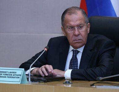 Siergiej Ławrow poda się do dymisji? Pojawiły się nieoficjalne informacje