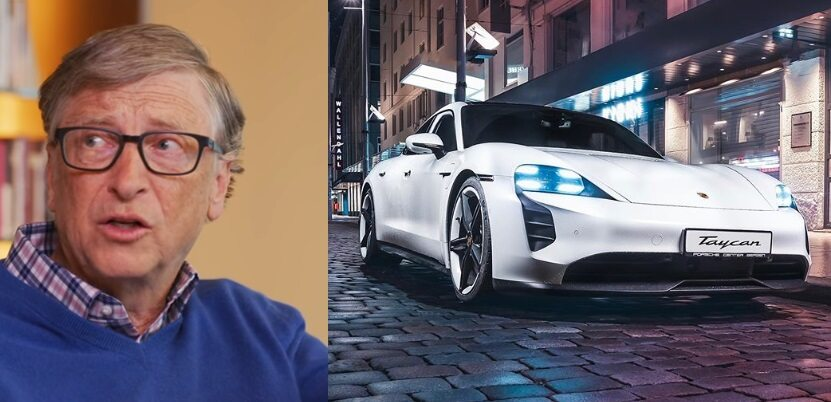 Bill Gates kupił Porsche