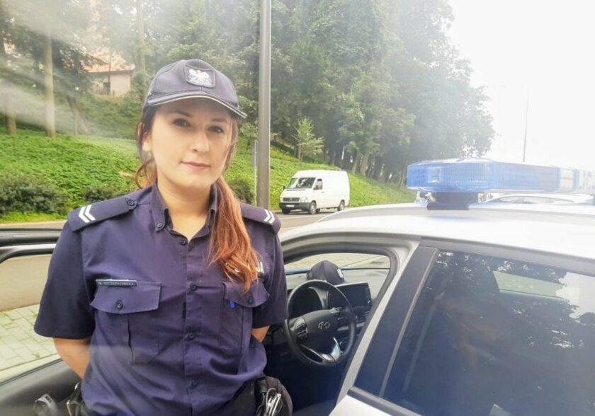 Kobiety w policji. St. sierż. Marta Szczepkowska