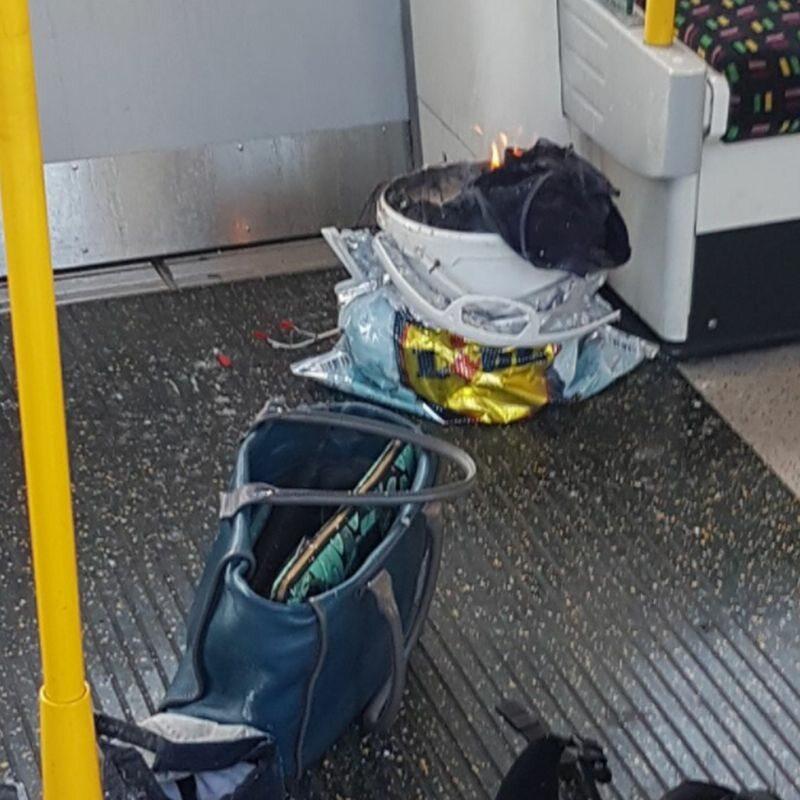 Wybuch na stacji metra w Londynie