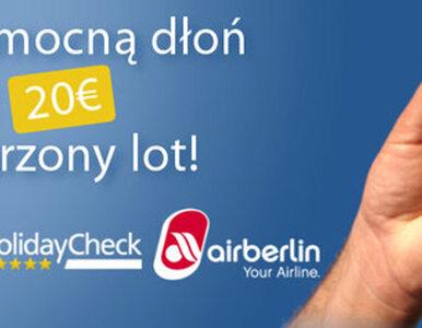 HolidayCheck i airberlin topbonus nagradzają za każdą recenzję