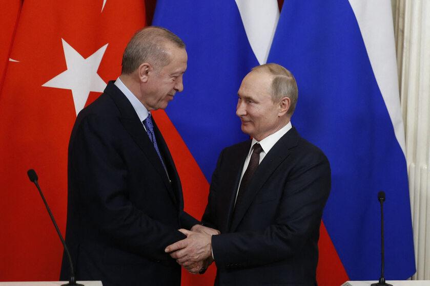 Spotkanie prezydentów Turcji i Rosji