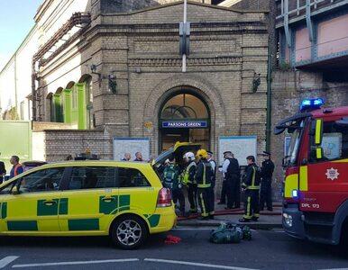 Atak w londyńskim metrze. Zatrzymano 18-latka