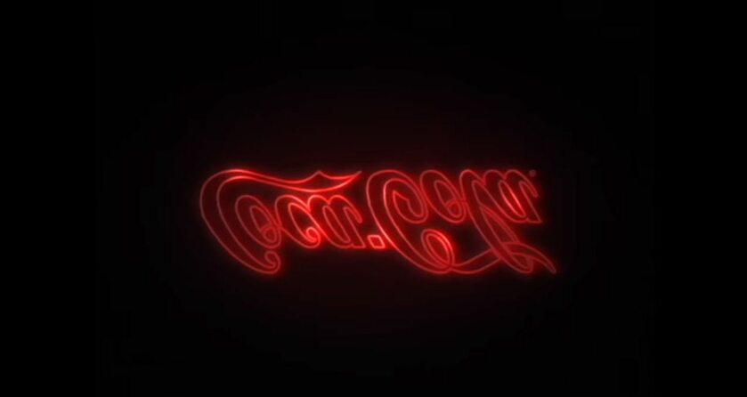 Kadr z reklamy Coca-Coli