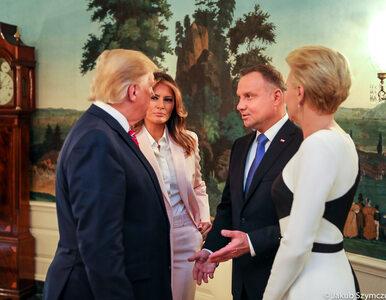 """Trumpowie dziękują Dudom za wizytę. """"Wzorowy sojusznik!"""""""