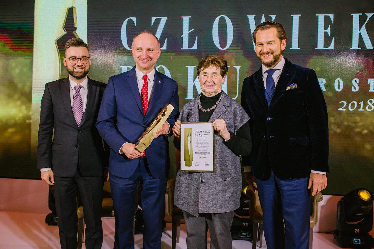 """Wręczenie nagrody """"Człowiek Roku 2018"""" tygodnika Wprost"""