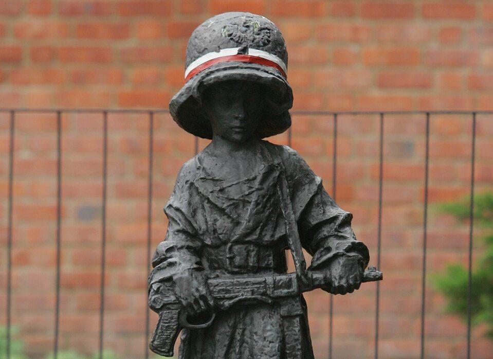 Pomnik Małego Powstańca ul. Podwale