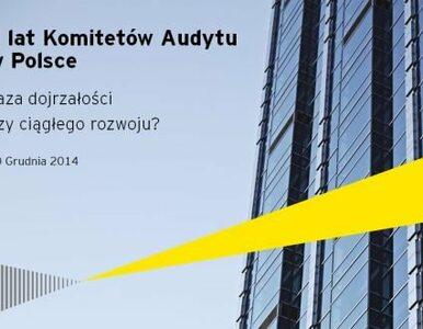 Polskie komitety audytu po 5 latach mają jeszcze dystans do pokonania...