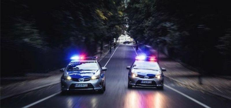 Policyjny pościg (zdj. ilustracyjne)