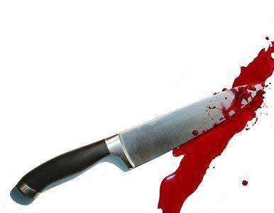 Pacjent szpitala zaatakował nożem, ofiara w poważnym stanie