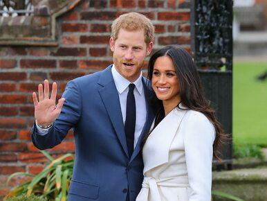 Ślub Meghan Markle i księcia Harry'ego. Tych zasad przestrzegać będą...