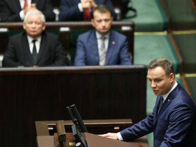 Pierwsze posiedzenie Sejmu i Senatu. Prezydent: Demokracja pokazała...
