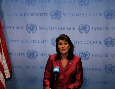 Nikki Haley rezygnuje z funkcji ambasadora USA przy ONZ