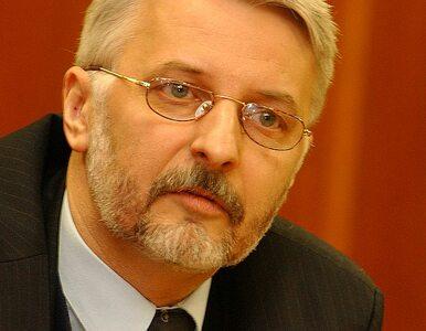 Waszczykowski: Dyplomacja unijna nie istnieje