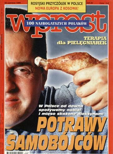 Okładka tygodnika WPROST: 25/1999