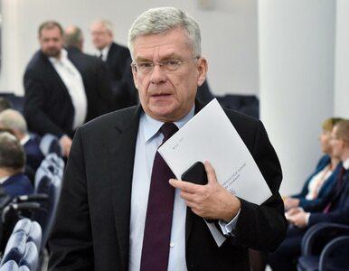 """""""To ewenement"""". Karczewski komentuje zamieszanie wokół tzw. ustawy..."""