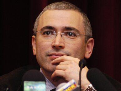 List gończy za Chodorkowskim. Oligarcha oskarżony o zorganizowanie...
