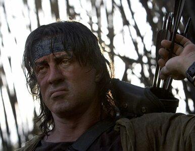 Sylvester Stallone definitywnie pożegnał się z Rambo