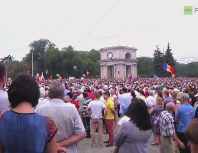Wielki protest w Kiszyniowie. Tysiące ludzi na ulicach