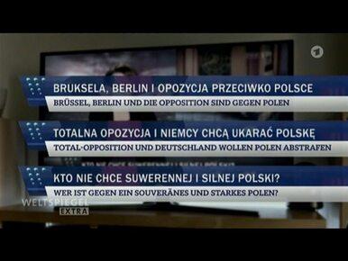 Niemiecka telewizja publiczna pokazała i przetłumaczyła słynne paski...
