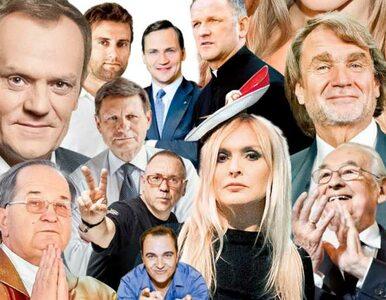 """Ranking """"Wprost"""" 50 najbardziej wpływowych Polaków. Miejsca 1-10"""