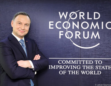 Światowe Forum Ekonomiczne w Davos. Z kim spotka się Andrzej Duda?