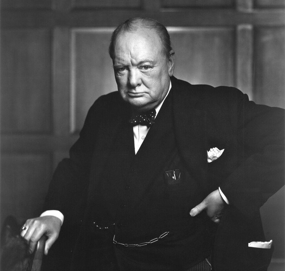 Premier Wielkiej Brytanii Winston Churchill