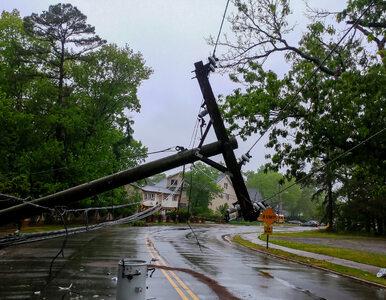 Bursztynowe ostrzeżenie w związku z huraganem Ali. Służby apelują do...
