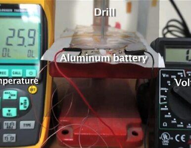 Naukowcy stworzyli nową baterię. Ładuje się w ciągu minuty