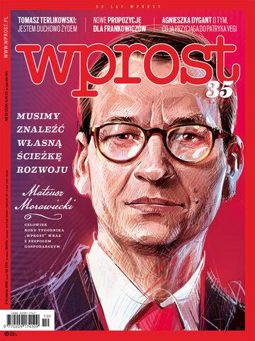 Okładka tygodnika Wprost nr 10/2018 (1826)