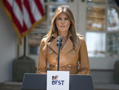 Melania Trump trafiła do szpitala. Dyrektor biura Pierwszej Damy wydała...