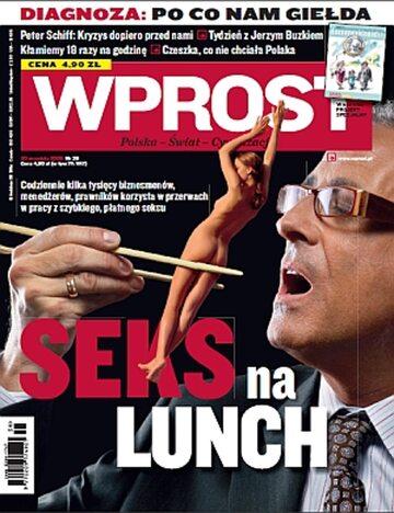Okładka tygodnika Wprost nr 38/2009 (1391)