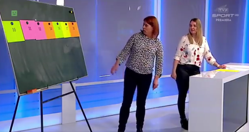 """Kadr z programu """"Szkoła z TVP"""""""