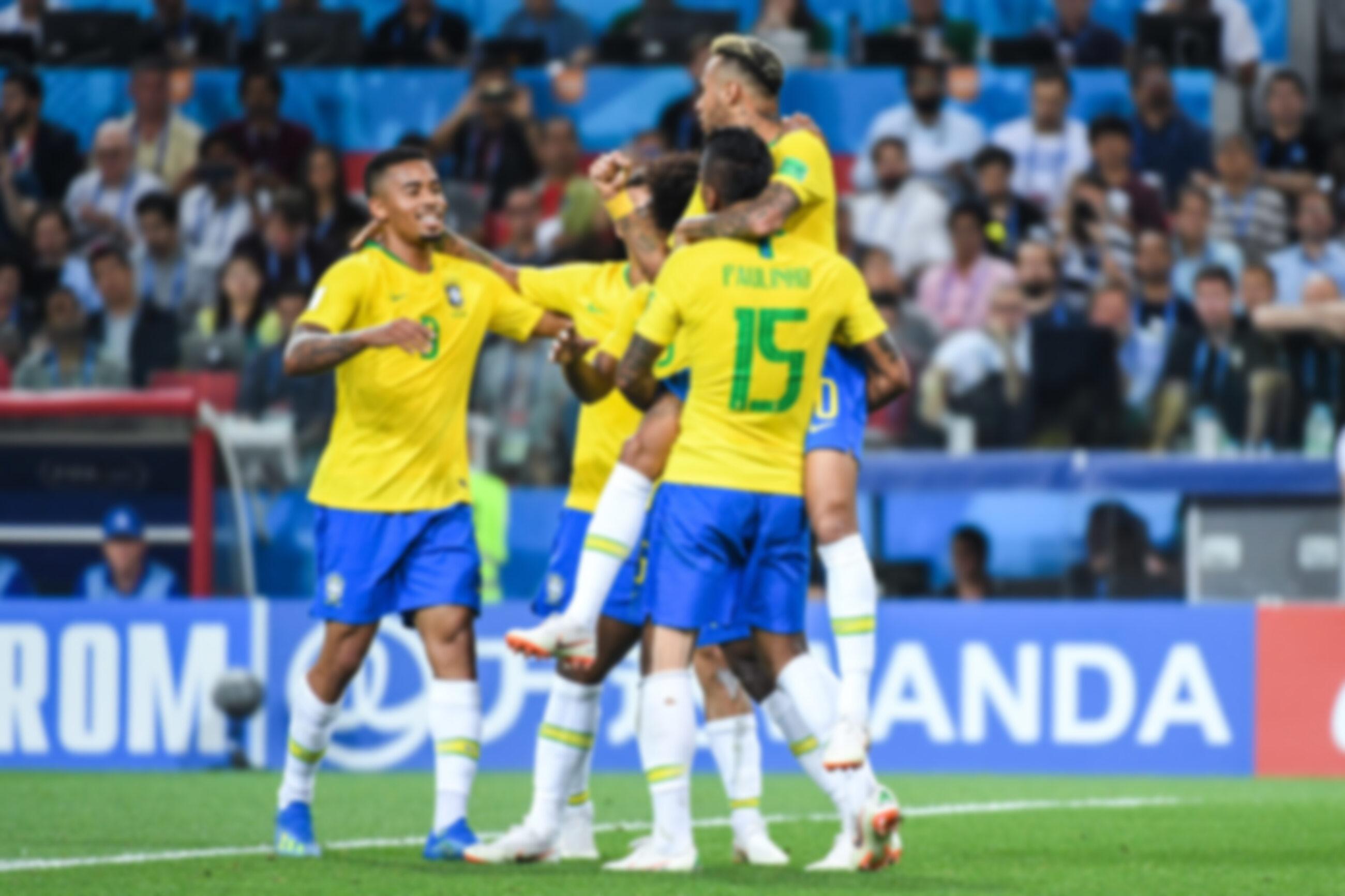 Gabriel Jesus, Paulinho i Neymar
