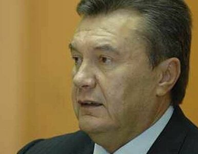 """""""Janukowyczowi zabrakło wyobraźni"""""""