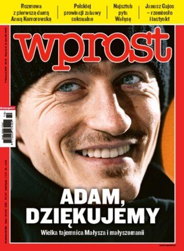 Okładka tygodnika WPROST: 10/2011